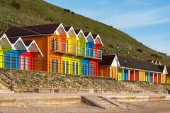 Scarborough & Bempton Cliffs 22 May 2016-0054 (lattelover56) Tags: beach seaside scarborough beachhuts