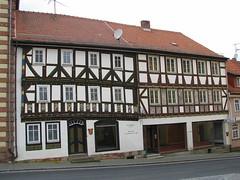 Elf-Apostel-Haus (willi.kampf) Tags: hessen rhn wanderung fachwerk fachwerkhaus tann elfapostelhaus tannrhn