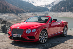 Continental V8 GTC (Nico K. Photography) Tags: red switzerland continental luxury v8 bentley supercars gtc photoshooting julierpass nicokphotography