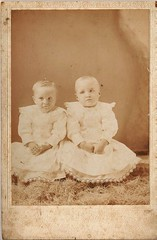 Bee and Lee Simmons - twins - no date (Valrico Runner) Tags: county david ga georgia bullock meadow burroughs bee madison lee simmons griffith mercier danielsville okelley