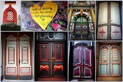 Doors & something more (Hann. Mnden) (armxesde) Tags: pentax ricoh k3 germany deutschland hannmnden niedersachsen doors