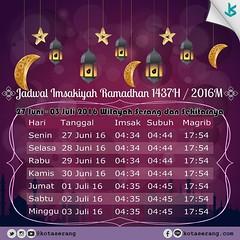 Selamat Menunaikan Ibadah Puasa Ramadhan. Kuatkan iman tingkatkan amal~ . . #jadwalimsakiyah2016 #schedule #ramadhankareem #ramadan2016 #ramadhan #imsakiyah #ramadan #kotaserang #serang #Banten #Indonesia. . http://kotaserang.net/1BFtNAa (kotaserang) Tags: indonesia ramadan ramadhan schedule puasa selamat iman serang ibadah banten imsakiyah menunaikan ramadhankareem kotaserang tingkatkan instagram ifttt httpkotaserangcom ramadan2016 kuatkan jadwalimsakiyah2016 amal~