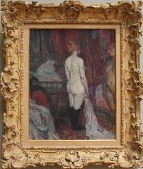 Henri de Tolouse-Lautrec - Woman Before a Mirror 1897 (ahisgett) Tags: new york art museum met metropolitian