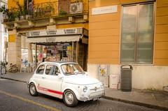 Italian style icon (hjuengst) Tags: auto italien italy car fiat500 vicenza cinquecento