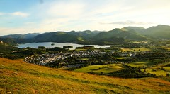 Golden Fields (ReevesWild) Tags: mountain lake nature beauty scenery district derwent lakedistrict scene cumbria fields derwentwater keswick lakedistrictnationalpark