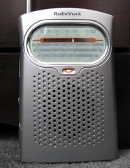 Radio Shack Portable Radio. (dccradio) Tags: music analog nc am dial northcarolina electronics speaker sw fm shortwave lumberton robesoncounty stereoled