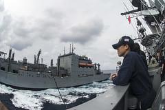160706-N-XQ474-044 (U.S. Pacific Fleet) Tags: usnavy ras cruiser usschancellorsvillecg62