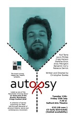 Autopsy @AndyJPilkington by @MagpieManMCR 12-15 July @SalfordArts https://www.ticketea.co.uk/tickets-theatre-autopsy/ (gmfringe) Tags: new uk summer england music english festival flesh mouth manchester death dance actors poetry play cheshire northwest skin theatre britain contemporary stage events yorkshire performance arts lancashire bee entertainment relationship lgbt poet nudity northern drama gender sexuality spokenword slab physicaltheatre monologue autopsy puberty mortuary newwriting coroner bodydysmorphia craighanson rebeccaderrick salfordartstheatre christopherbowles whatson rodtame diehexen lauramcgee andypilkington gmfringe greatermanchesterfringe benjamincorry stefanieelrick