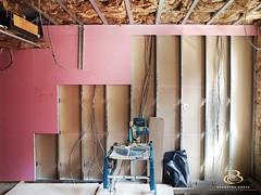 Metal stud work (Brompton Cross Construction) Tags: studwork plasterboard insulation knightsbridge london construction builders joinery epic woodwork