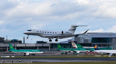N650GD Gulfstream Aerospace Gulfstream G650 (Niall McCormick) Tags: dublin airport aircraft airliner aerospace gulfstream eidw g650 n650gd