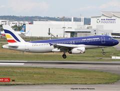 IAir Moldova (Jacques PANAS) Tags: air moldova airbus a320233 eraxp msn741