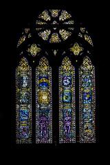 Un des vitraux de la cathédrale Saint-Mungo