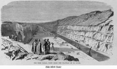 BK004075 (ngao5) Tags: africa people cliff men illustration landscape group egypt middleeast engineering males prints adults africans viewfromabove civilengineering egyptians commercialartandgraphicdesign designarts middleeasterners magazineillustration suezcanal northafricans thesuezcanalviewfromtheplateauofelguisrmagazineillus