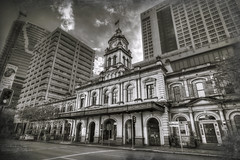 Brisbane  Central (我的臉書粉絲 : LIU Photography 傳傳) Tags: travel church canon landscape photography catholic sydney australian australia melbourne brisbane chamber hdr 1635l 1dx