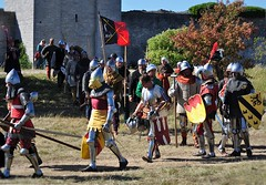 Battle of Wisby, Medeltidsveckan, Gotland 2016 (Bochum1805) Tags: battleofwisby 1361 historicalreenactment
