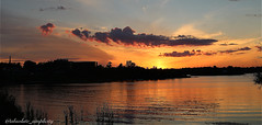 Ramsey Lake, Sudbury. (absolute_simplicity) Tags: sunset sky cloud lake water scenery flickr outdoor