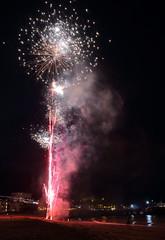 Fireworks 11 20160727 (Steve TB) Tags: broadstairs vikingbay beach sea fireworks canon eos5dmarkiii jetty bleakhouse