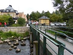 Small town bridge (bokage) Tags: sweden norrtlje bokage bridge water
