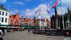 Bruges, la Belle 20 (Ld\/) Tags: bruges brujas brugge belgique canaux historic city citytrip belgium belgie flandre rgion flamande flanders club old venise venizia north nord pays