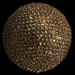 Sparkling Ball of Rhinestones from a Window Display on South Broad Street (buddhadog) Tags: sparklingball rhinestones circularball round 500x500 blackbackground agcgwinner 1win