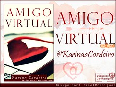 Amigo Virtual (caroliRodrigues-) Tags: banner design divulgacao wattpad