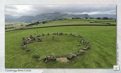 Castlerigg Stone Circle : DJI Phantom III Professional (setsuyostar) Tags: castleriggstonecircle lakedistrict nationaltrust djiphantomiiiprofessional djip3p summer2016 august2016 kenhawley