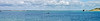 Totland Panorama 2 (tame_alien) Tags: uk unitedkingdom england isleofwight totlandbay panorama sea solent water landscape hurstcastle fortalbert