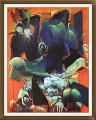 Piero Leddi, 1975. Maternit. (GiannLui) Tags: pieroleddi maternit quadro pittura dipinto moderna leddi