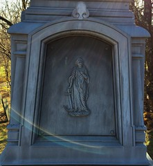 The sea (ThePaperTyger) Tags: autumn cemeteries cemetery connecticut newengland landsend brookfield whitebronze