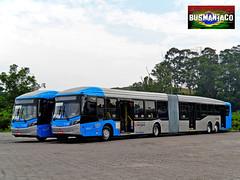 6 1740 Viação Cidade Dutra (busManíaCo) Tags: blue bus azul millennium mercedesbenz ônibus viaçãocidadedutra caioinduscar bluetec5 millenniumbrt