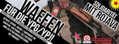 #rojava ΚΑΛΕΣΜΑ ΤΗΣ ΕΚΣΤΡΑΤΕΙΑΣ: ΑΛΛΗΛΕΓΓΥΗ ΜΕ ROJAVA – ΟΠΛΑ ΓΙΑ YPG/YPJ http://t.co/BDsREwJub9