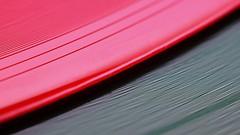 Red & Green (Ben Wightman) Tags: music records macro vinyl grooves discs redandgreen 7inch macromondays