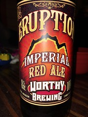 Worthy Eruption Imperial Red (pete4ducks) Tags: beer oregon bottle amazon ale eugene iphone 2014 worthybrewingcompanyeruptionimperialredale