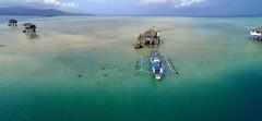 Sand Bar (Setiritter) Tags: ocean sea house coast asia asien meer philippines htte sandbar haus hut tropical phl aerialphotography bais kste luftbild philippinen bangka luftaufnahme ozean tropisch pumpboat negrosoriental gopro manjuyod