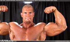 14101-brown-m-070 (davidjdowning) Tags: men muscles muscle muscular bodybuilding buff bodybuilder biceps