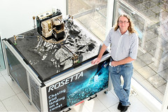 Ian Wright (The Open University (OU)) Tags: england people experiments university miltonkeynes science ou labs rosetta ptolemy laboratories innovative theopenuniversity planetarysciences professorianwright