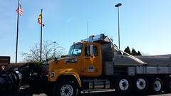 SHA's Quad Axle Truck (StateMaryland) Tags: winter snow truck quad plow sha axle marylandstatehighwayadministration mdsha
