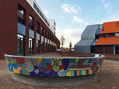 Ringovenpark / Panningen (rob4xs) Tags: holland netherlands nederland thenetherlands gaudi limburg helden groenling panningen iphonephoto ringoven peelenmaas kepl ringovenpark