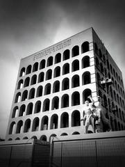 Rome .. the Palazzo della Civiltà Italiana.