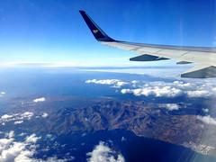 Flying Over Lanzarote (Marc Sayce) Tags: ocean sea espaa mountains islands spain shot thomas air wing cook lanzarote playa canarias aerial atlantic blanca fue tip airbus canary airways islas wingtip a321 lgw
