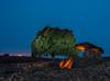 La chabola de la Hechicera (explored) (Sergio Nevado) Tags: lightpainting noche cielo nocturna laguardia alava rioja dolmen piedra chabola alavesa hechicera elvillar alavavision