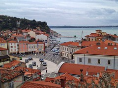 Piran, looks over the city (Maria Rosaria Sannino/images and words) Tags: slovenia piran adriaticsea istria pirano mariarosariasannino slovenianistria gulfofpiran