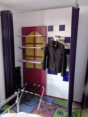Wardrobe (stevenbrandist) Tags: holland carpet hotel rotterdam thenetherlands arthotelrotterdam