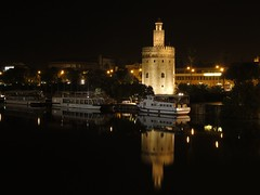 Torre del Oro, Seville, Andalusia (robin denton) Tags: nightphotography building heritage history architecture night buildings river boats boat guadalquivir industrial nightshot riverside seville andalucia historic nightscene andalusia watchtower espagna waterscape cathedralcity historicbuildings historicbuilding riverscape bestshotoftheday