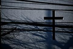 (sinkdd) Tags: shadow church japan tokyo nikon cross 85mm  yoyogi protestant d800  nikond800 f18g sinkdd afsnikkor85mmf18g  yoyogichubuchurch