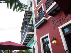 Restaurant in San Juan.