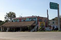 Mexican food in carretera 307. (baffalie) Tags: mexico riviera maya yucatan roo quintana