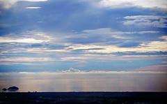 Horizon Cloud (にく) Tags: blue sea sky cloud penang 海 空 青 pulau balik マレーシア 地平線 ピナン