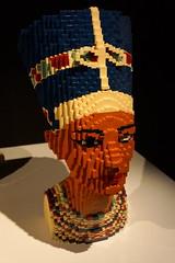 (elalex2009) Tags: art lego contemporaryart modernart sony nefertiti legoart nathansawaya sawaya theartofthebrick nex7 sonynex7 legotoybricks sonyalphanex7
