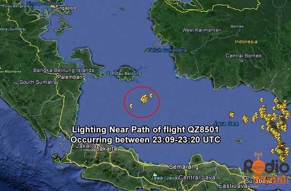 QZ8501 Crashed in Java Sea : Air Asia Update